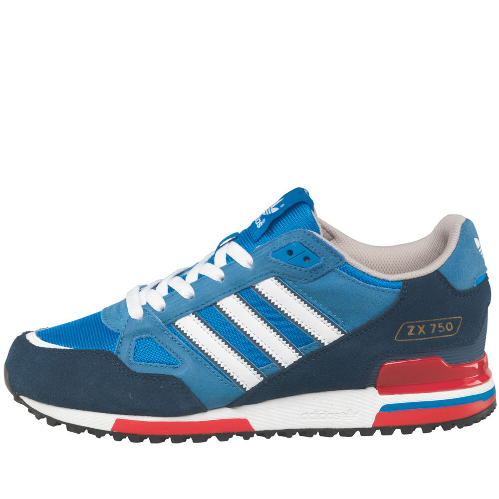 Adidas Originals Hommes ZX750 Baskets G96718 UK9 OG Aqua 8000 Torsion Eqt 7000-