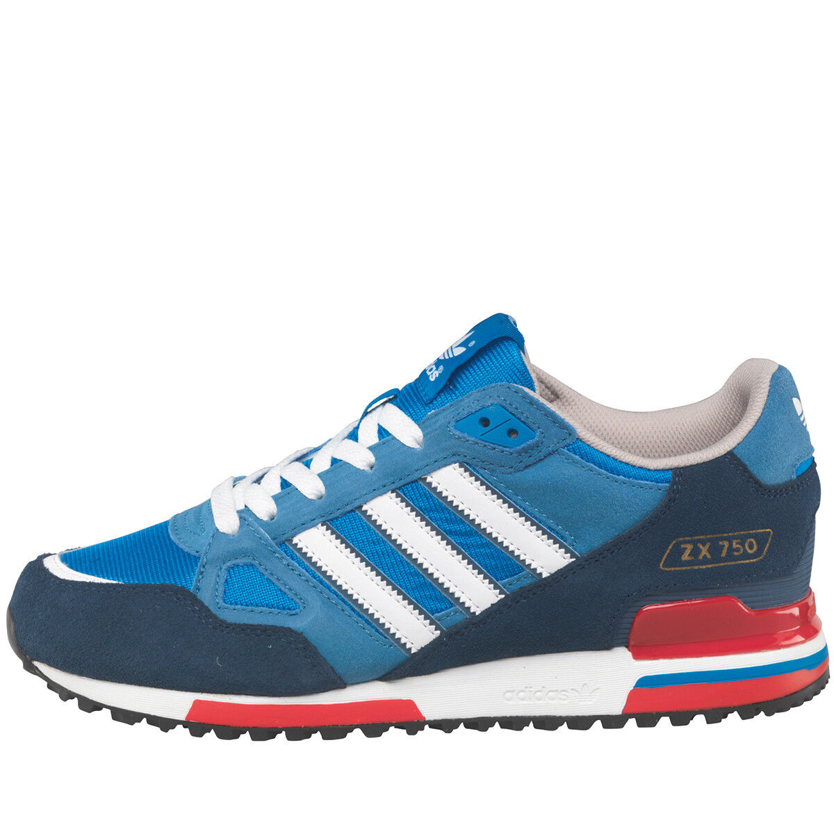 adidas Originals Mens ZX750 AQUA Trainers G96718 UK12 OG AQUA ZX750 8000 torsion eqt adv 1f2e16