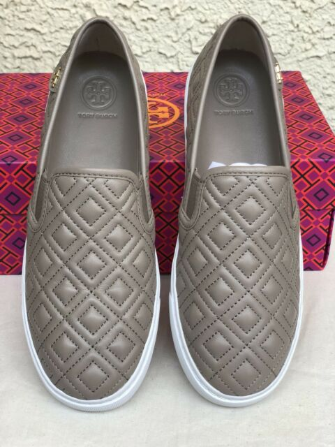 2e9db287904f Tory Burch Jesse Quilted Sneaker Size 7.5 French Gray for sale ...