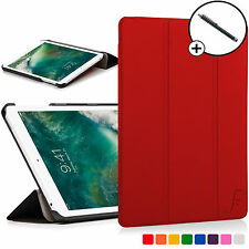Red Folding Smart Case Cover Sleeve for Apple iPad 9.7 2017 A1822 Stylus