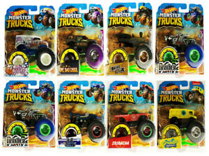 Genuine Hot Wheels Monster Trucks 1 64 Scale Collect Them All Choose From List Ebay