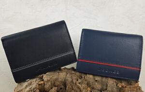 Leder-Geldboerse-RFID-Schutz-Portemonnaie-Echtleder-Geldbeutel-Herren-J-Jones
