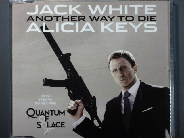 Jack White & Alicia Keys - Another Way To Die >2 Track Single CD< (James Bond)