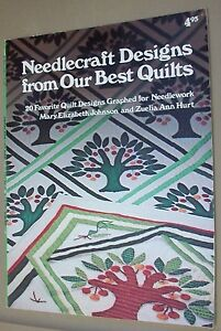 Needlepoint-Designs-from-Our-Best-Quilts-1978-PB-By-Mary-E-Johnson-amp-Z-Hurt