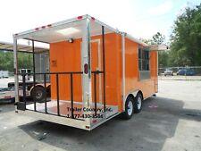 New 85x20 85 X 20 Enclosed Concession Food Vending Bbq Trailer