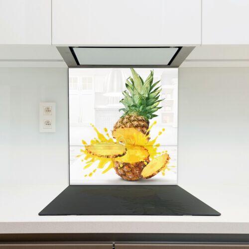 Kitchen Glass Splashback Heat Resistant Toughened Glass 60x65cm 10991964
