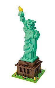 Kawada Nano Bloque Statue Of Liberty Avec Suivi Mouvements # Nouveau De Japon
