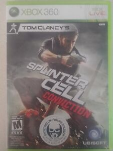 Tom-Clancy-039-s-Splinter-Cell-Conviction-Xbox-360-Complete-Good-Condition-FREE-Ship