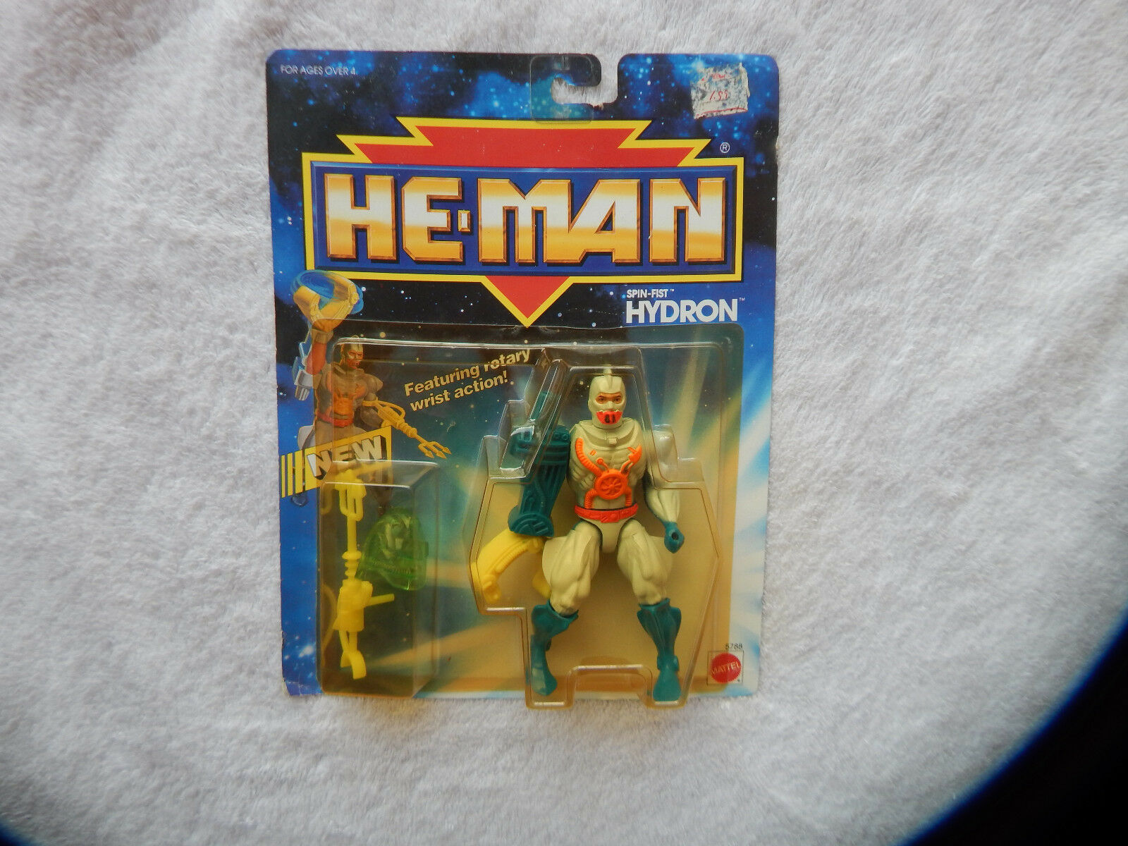 MOTU He-Man New Adventures NA Spin Fist Hydron MOC