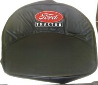 Ford Tractor 8n Naa 600 601 800 801 Pan Seat Cushion W/ Embroidered Script Logo