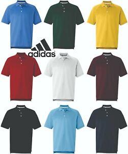 Adidas-Golf-Men-039-s-A108-ClimaLite-Tour-Short-Sleeve-Sport-Shirt-Pique-Polo-New