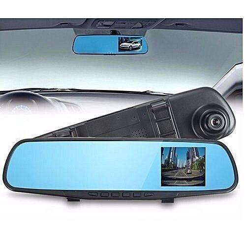 Mirror Dash Cam Dual Lens Car DVR Rearview Vehicle Camera Recorder