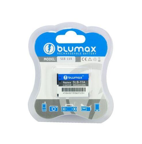 Blumax Li-Ion Batería Para Samsung SLB-11A 800mAh 3.8V Li-lon