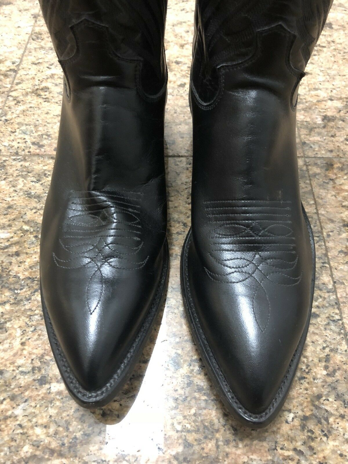 Justin Leather Western Western Western Boots NWOT 53d5c1
