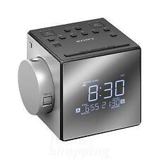 Sony ICF-C1PJ Dual Alarm Clock Radio 5 Nature Sounds & Time Projection