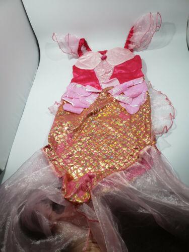 Halloween Costume Kids Pink Mermaid