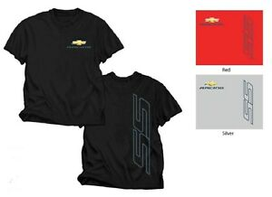 chevrolet racing chevy ss black red or silver tee shirt ebay. Black Bedroom Furniture Sets. Home Design Ideas