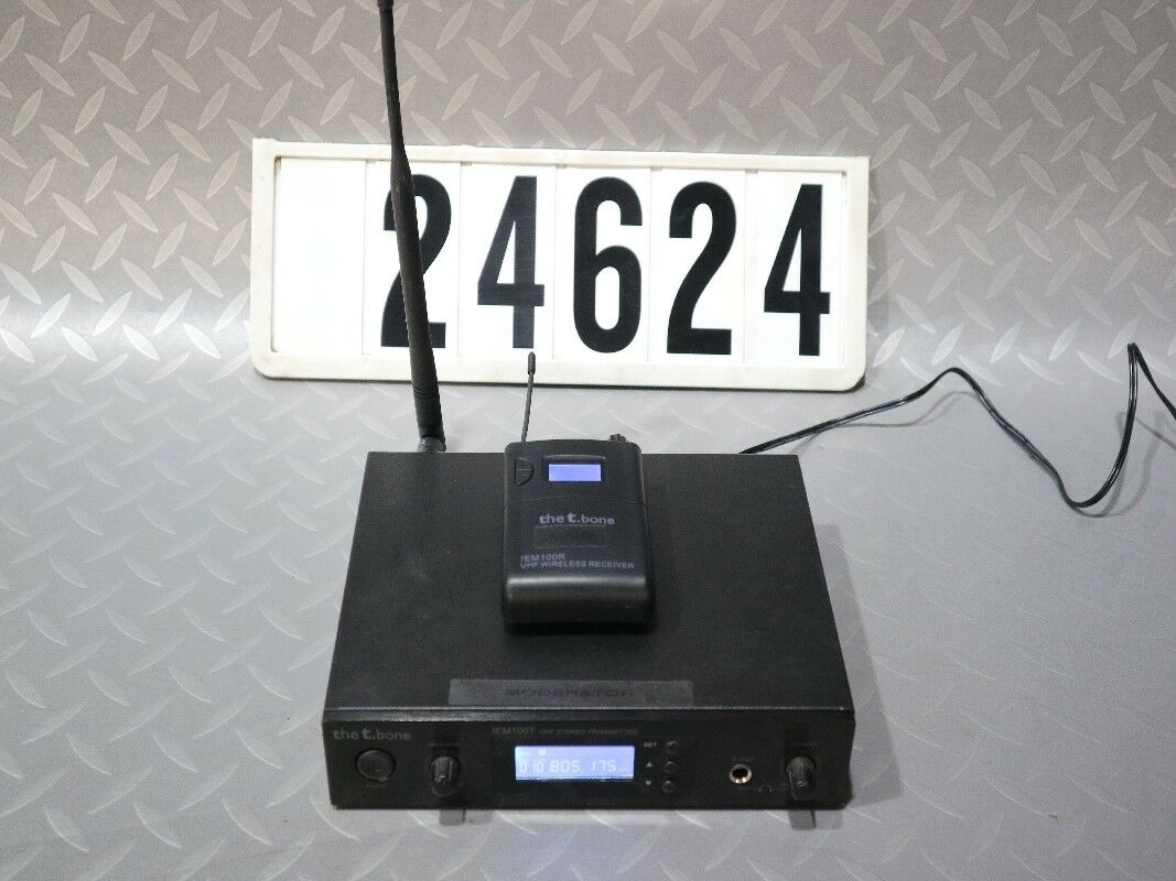 Der T. Knochen im Ohrsystem IEM00T UHF Stereo Transmitter M. Wireless Receiver