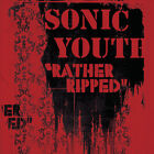 Sonic Youth Rather Ripped LP Vinyl 12 Track 180 Gram Repress With Insert
