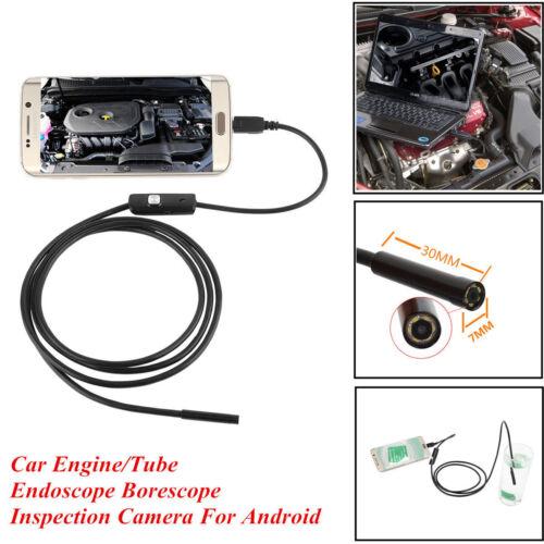 Étanche Micro USB Endoscope Alésage portée laparoscopy Inspection Caméra Vidéo UK