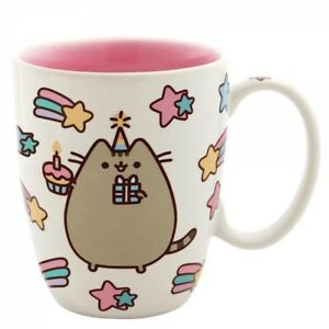 Image Is Loading Pusheen The Cat Birthday Cake Mug Gift Boxed