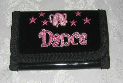 Abile Portafoglio Di Danza Nero Per Ragazze-mostra Il Titolo Originale