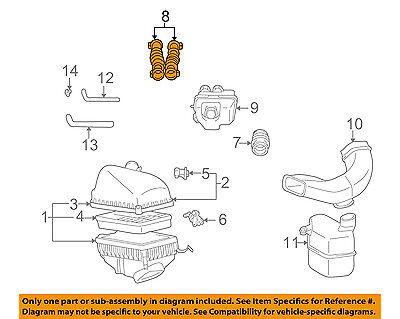 1999 lexus es300 engine diagram lexus toyota oem 99 01 es300 air cleaner intake hose duct tube  lexus toyota oem 99 01 es300 air