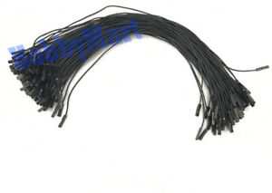 20-x-DuPont-2-54mm-1-Pin-Jumper-Female-to-Female-Black-wire-Arduino-Breadboard