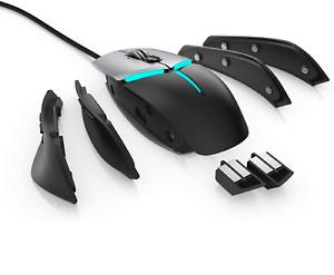 Alienware Elite Gaming Mouse,12, 000 DPI Pixart Optical Sensor, Alienfx with RGB