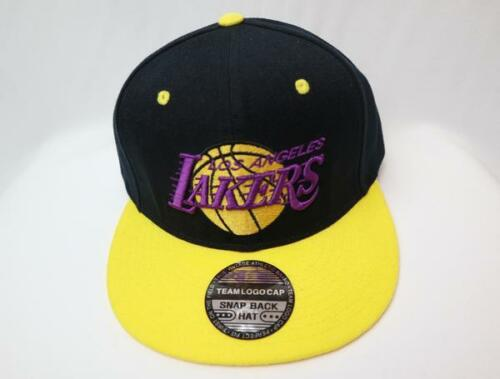 LA Los Angeles Lakers Logo Hat Snapback Cap MADE IN KOREA