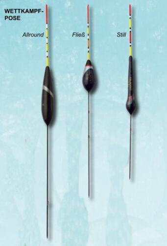 Wettkampfpose Allround Stillwasser Fießwasser Stipp Pose Friedfisch Stippen