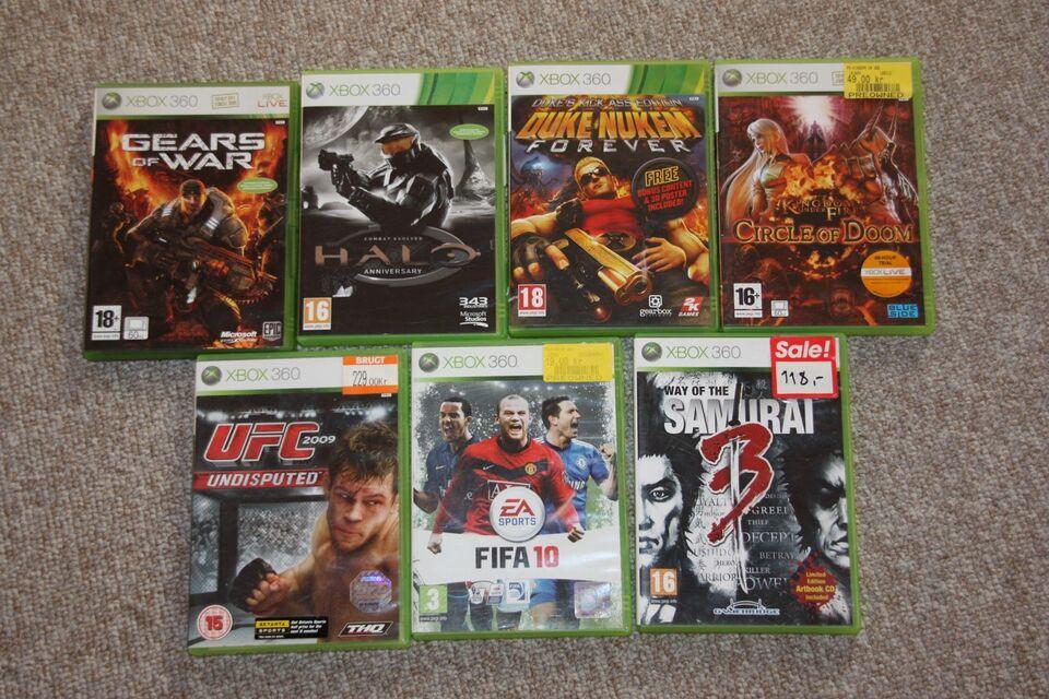 Spil til Xbox 360 , Xbox 360