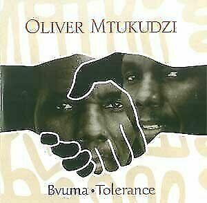 OLIVER MTUKUDZI - Bvuma/tolerance - CD - Import - **Excellent Condition**