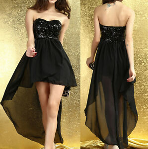 Ladies-Party-Evening-Dress-Club-Wear-Mini-Midi-Maxi-Long-Bodycon-Peplum-Dress