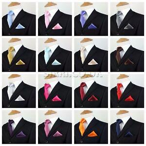 ace09d6d94f73 Image is loading Kid-Children-Boys-Premium-Satin-Tie-Hanky-Handkerchief-