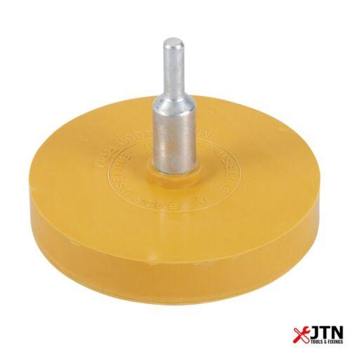 Silverline 509509 gomme Caramel Coussinet en caoutchouc 85 mm