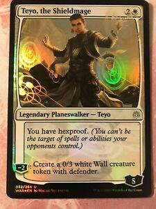 Teyo the shieldmage War Of The Spark Mtg Card Mint Condition