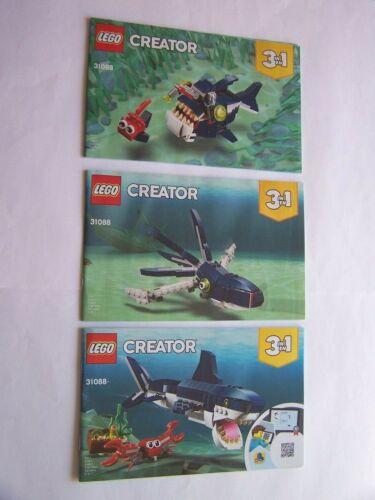 31088 LEGO® Bauanleitung Instruction Nr