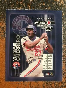 Vladimir-Guerrero-Expos-2000-MLB-Showdown-RARE-HAND-CUT-PROMO-POSTER-CARD