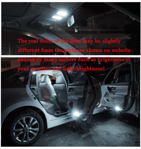 New Premium White Lights SMD Interior LED Package Kit For Honda CR-V 1997-2001