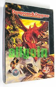 Donjons & Dragons Set Base Silver Edition Anniversaire 1999 Tsr 25th D & d Usato