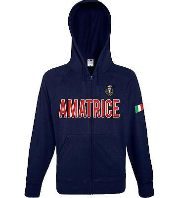 Hoodies & Sweatshirts Activewear Felpa Cappuccio Zip Ama05 Raccolta Fondi Terremoto Amatrice Sisma 24 Pirozzi Nourishing The Kidneys Relieving Rheumatism