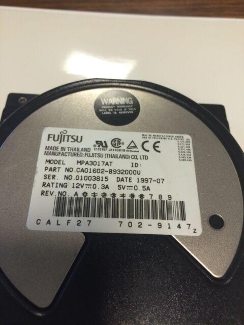 Fujitsu MPA3017AT IDE 1.7GB HDD