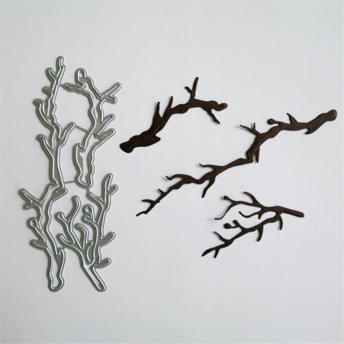 Baum Pole Design Metall Stanzformen für DIY Scrapbooking Album Karten G3D