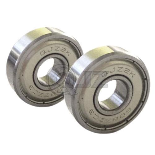 2x 608-zz ABEC-5 8mm x 22mm x 7mm 3D Printer Prusa Mendel RepRap Ball Bearing