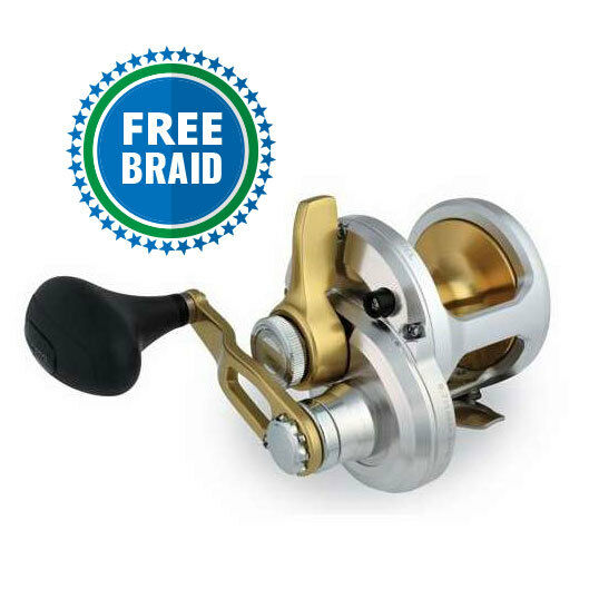 Shimano Talica 12 With Free Braid  color of Choice  factory direct sales