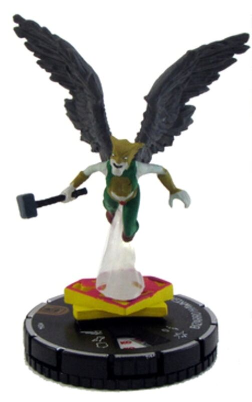 HEROCLIX THE JOKER'S WILD  -    064 Bizarro Hawkgirl Chase 37f32c
