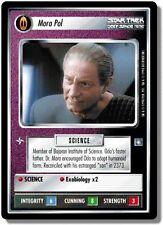 Star Trek CCG DS9 Deep Space 9 Mora Pol