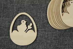 10 Stk Osterei Ei Aus Holz Ostern Basteln Dekoration Malen