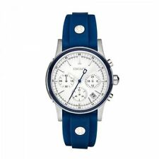 06cf212ea28 DKNY Chronograph Blue Rubber Band Stainless Steel Ladies Watch NY8173 RRP   249
